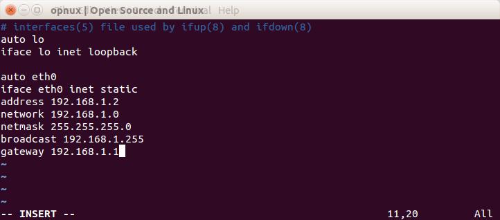 Linux статическая маршрутизация Vsphere