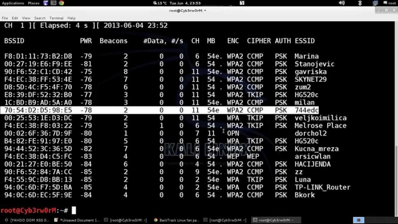 Как сделать свой словарь паролей через Crunch на Kali Linux