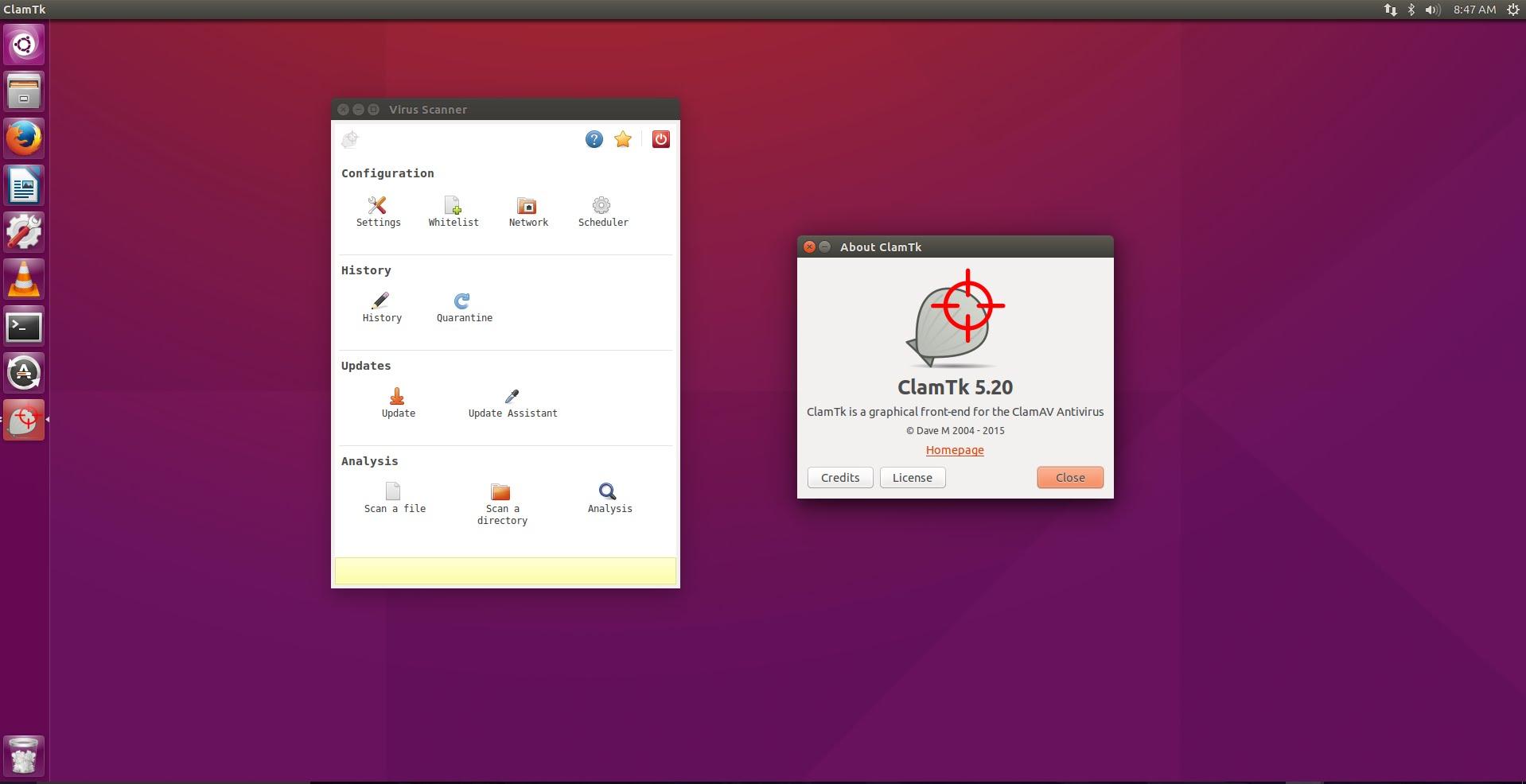 Как установить ClamTK на Ubuntu