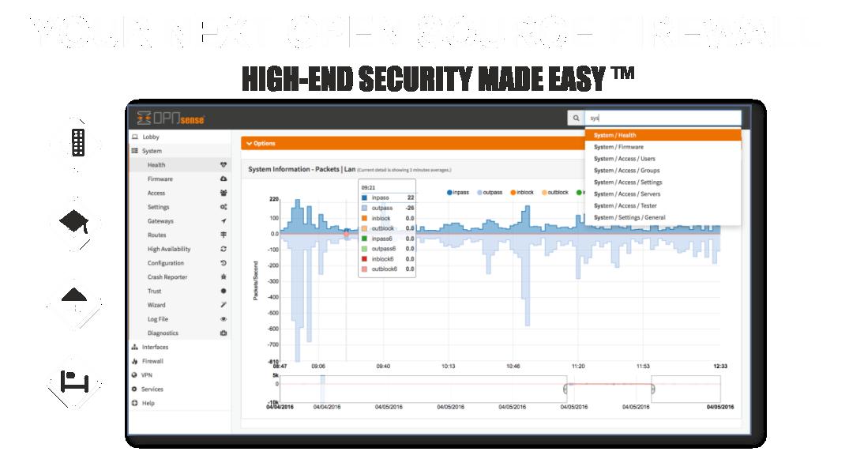 OpnSense корректное отображение браузером вэб-интерфейса