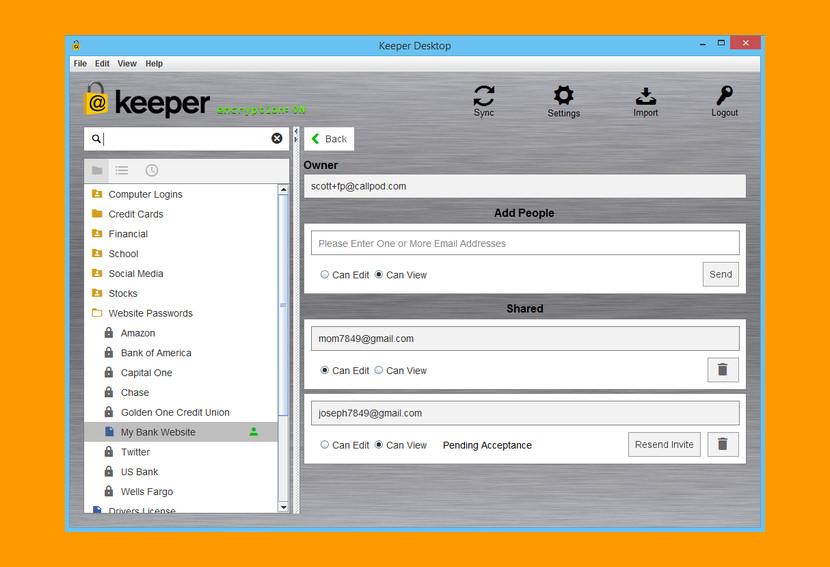 Keeper — безопасный способ сохранить пароль с управлением из командной строки