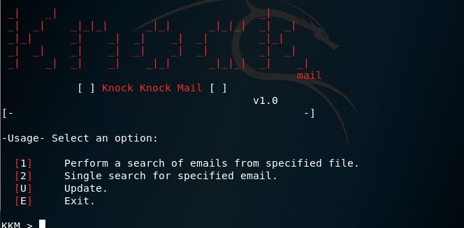 KnockMail – проверить, существует ли электронная почта