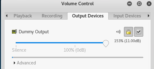 Как увеличить звук выше 100% в Kali Linux