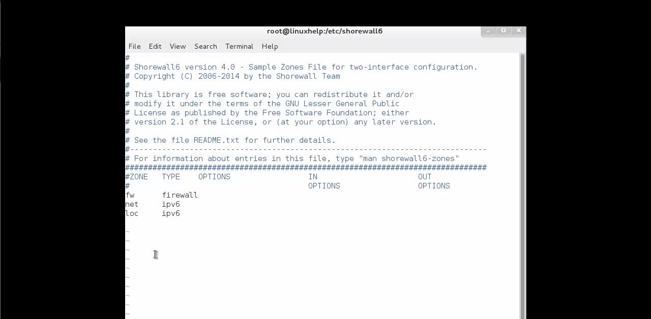 Как установить Shorewall на Linux