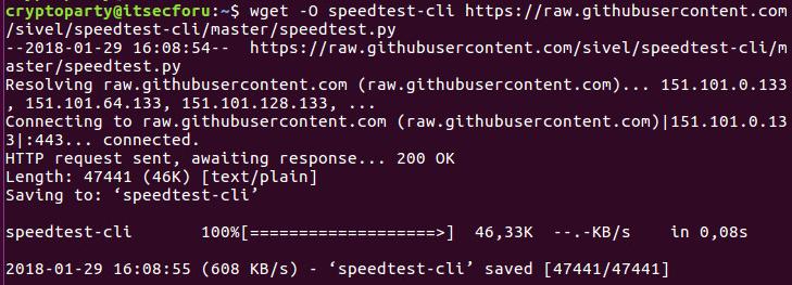 💨 Как протестировать скорость Интернета в Linux с помощью терминала или SSH
