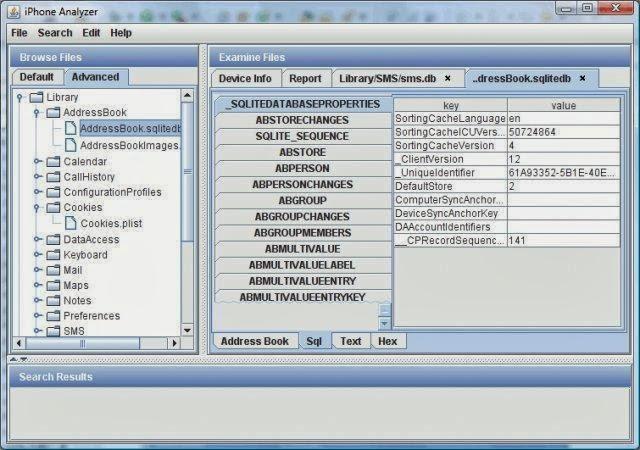 IPhone Analyzer – Инструмент форензики и криминалистики  IPhone