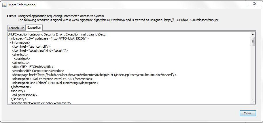 Исправление ошибки Java Неподписанное приложение, требующее неограниченный доступ к системе | Unsigned application requesting unrestricted access to system