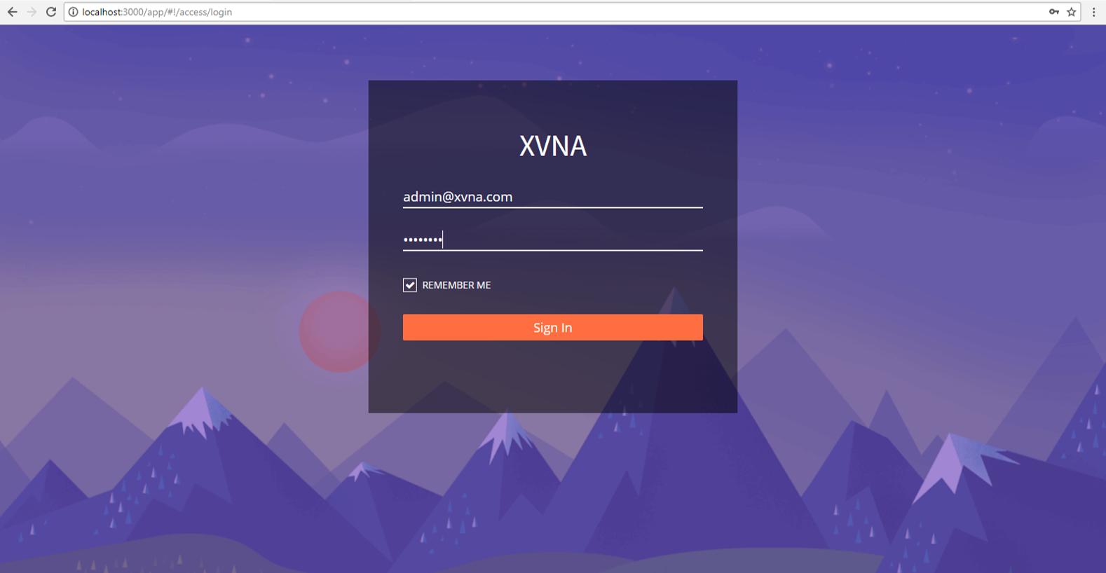 XVNA чрезвычайное уязвимое приложение Node