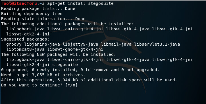 Стеганография в Kali Linux — Скрытие данных в изображении