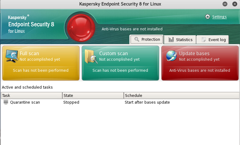 Как установить антивирус Kaspersky на Kali Linux