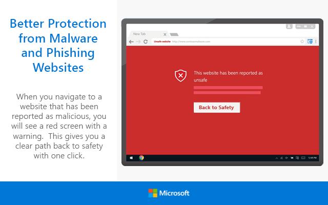 Microsoft перенесла защиту браузера Windows Defender на Chrome