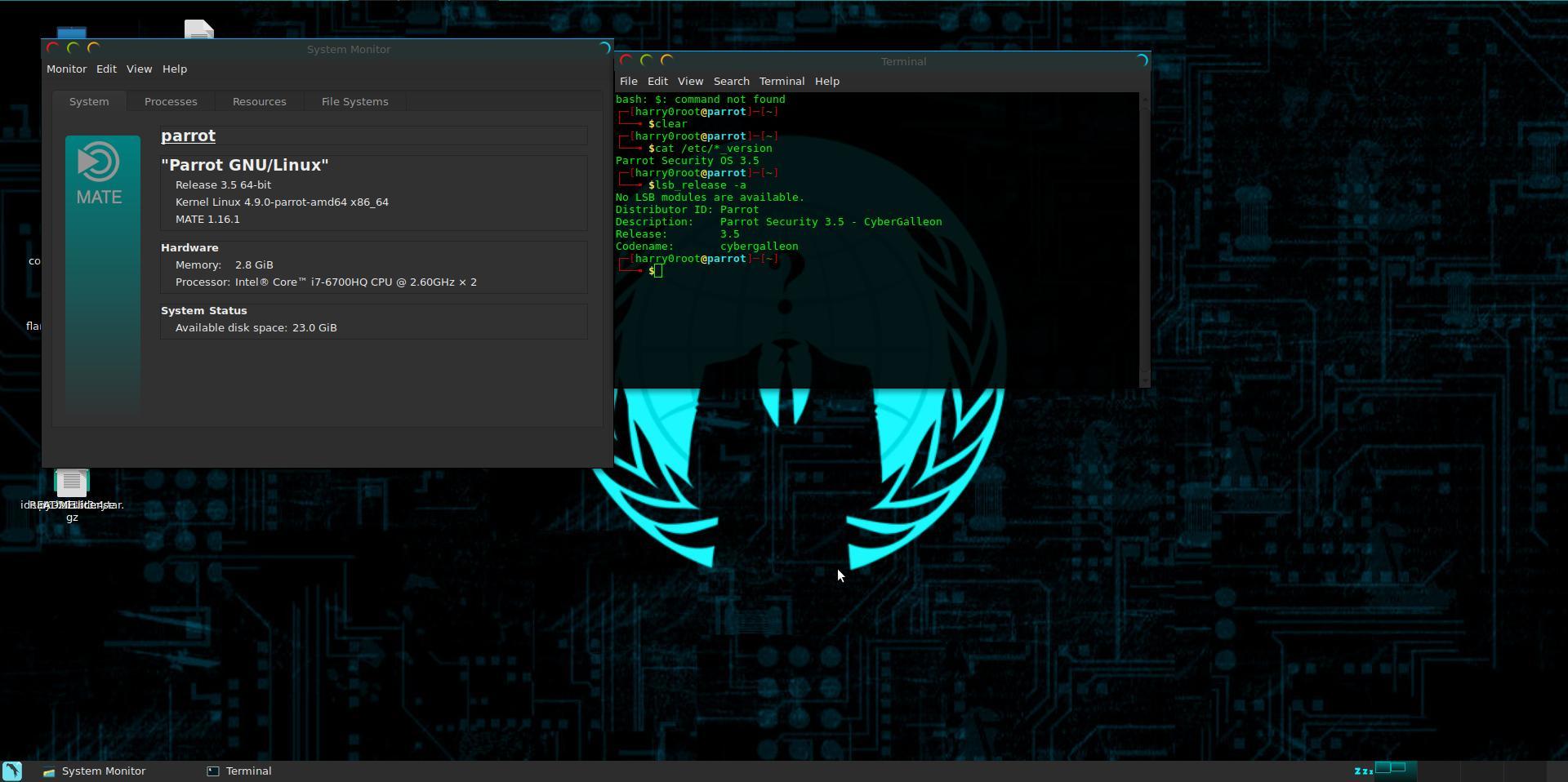 Parrot Security OS 4.0 выпущена с множеством новых мощных инструментов и с обновлениями пакетов