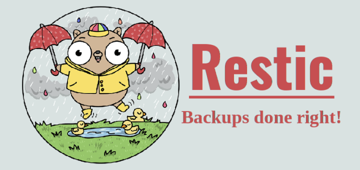 Restic – быстрое, безопасное и эффективное приложение для резервного копирования