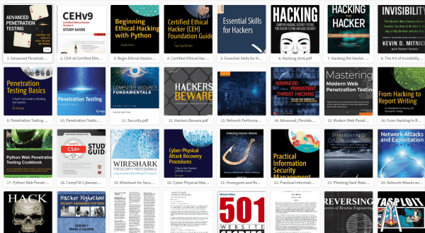 Топ 100 бесплатных хакерских книг PDF 2018