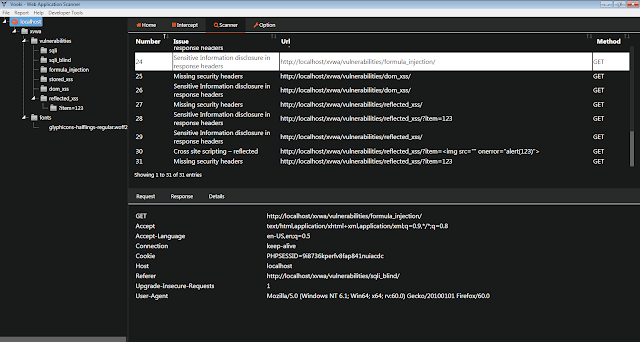 VOOKI — Сканер уязвимостей веб-приложений