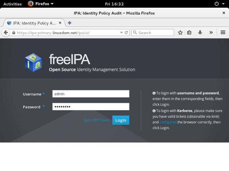 Как установить и настроить FreeIPA на Red Hat Linux