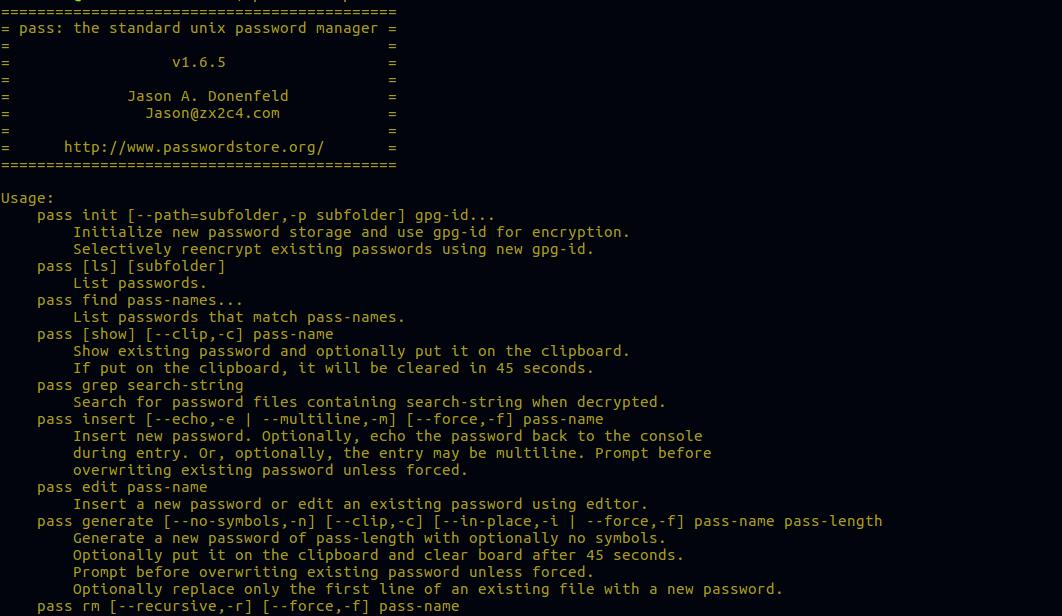 ✗ Шифрование и управление паролями с помощью QtPass и PassFF менеджера паролей на Linux ✗
