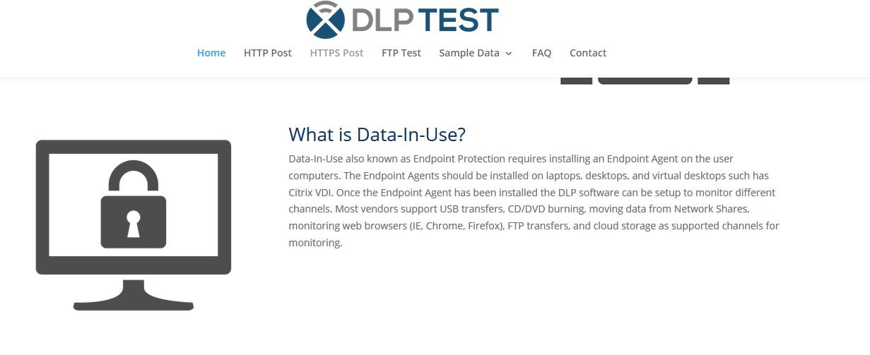 Тестируем DLP систему с помощью https://dlptest.com