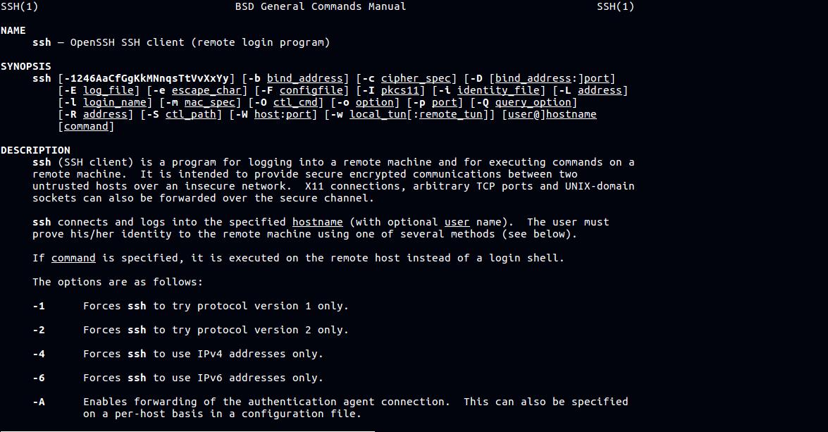 Как включить службу SSH в Manjaro Linux