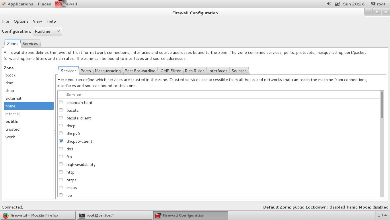 Введение в команду firewalld и firewall-cmd в Linux