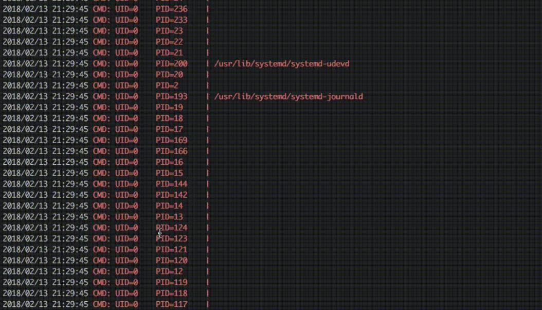 pspy —  отслеживания процессов в Linux без прав root