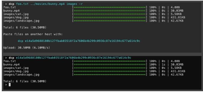 Dcp — инструмент для безопасной передачи файлов между компьютерами Linux