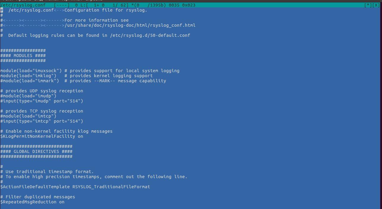 Как настроить формат логов с помощью rsyslog в CentOS / RHEL