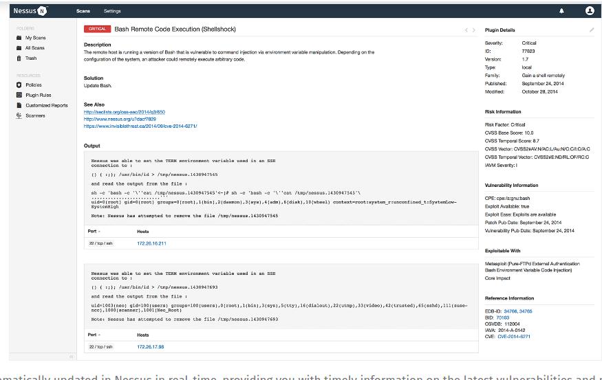 Как установить сканер Nessus на Ubuntu 18.04 / Debian 9