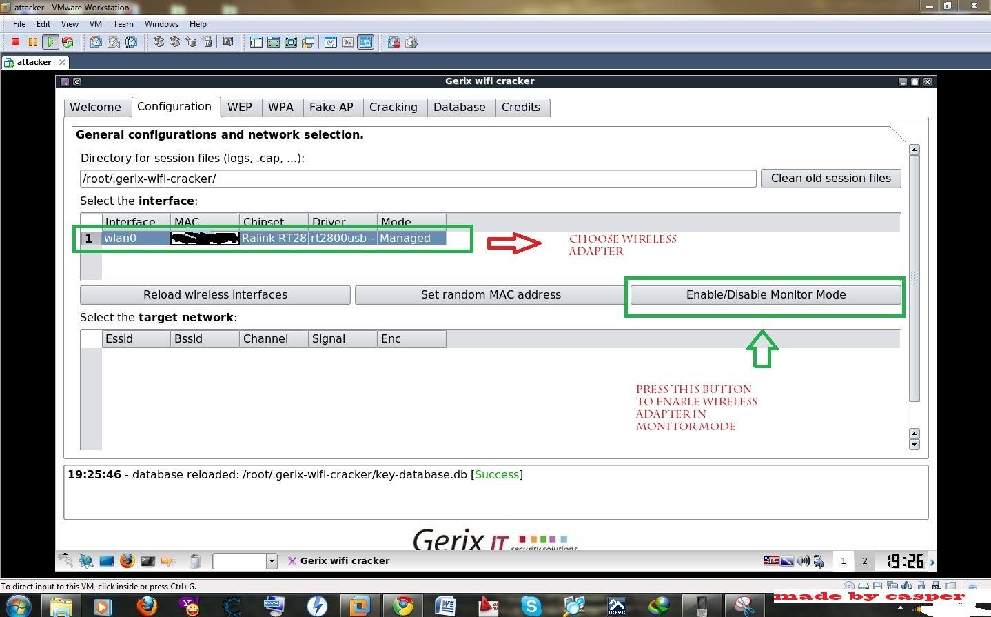 Gerix WiFi Cracker — инструмент для взлома беспроводных сетей 802.11 с графическим интерфейсом