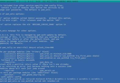 💪 Как принудительно применять политику сложности паролей в Ubuntu 18.04