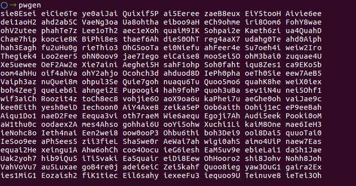5 способов создать рандомный / надежный пароль в терминале Linux