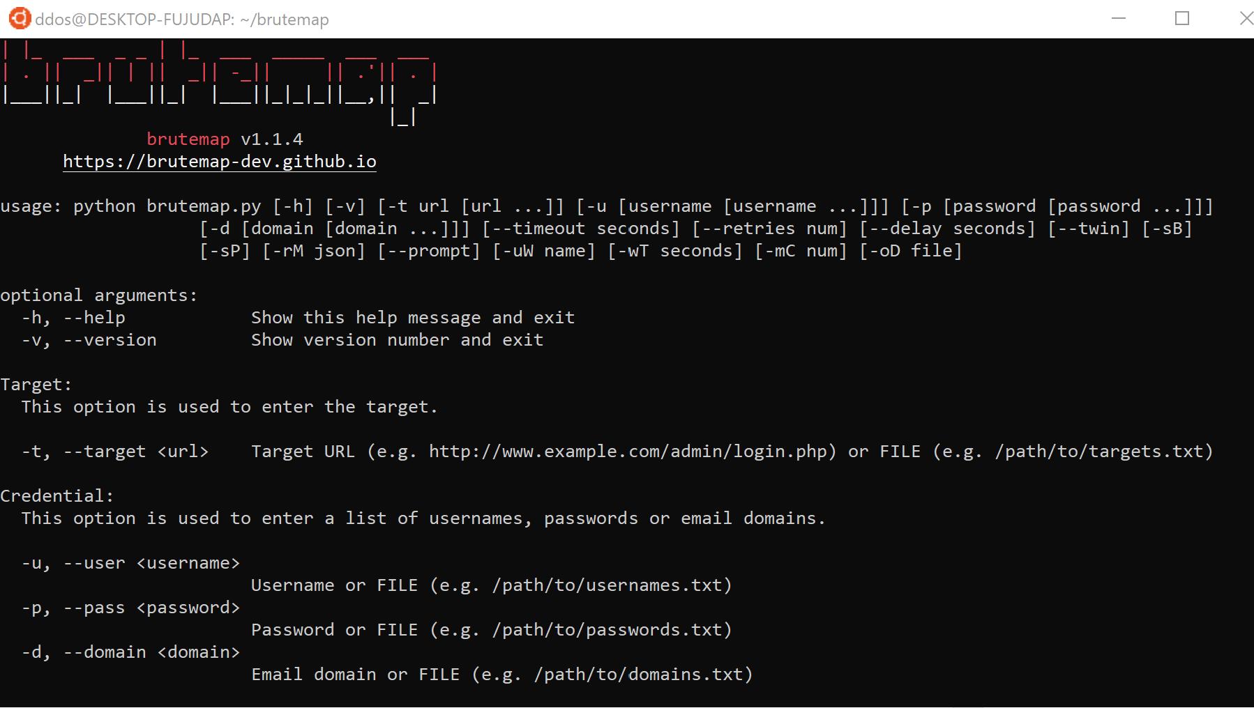 ⌨️ brutemap: автоматизирует тестирование аккаунтов на странице входа на сайт