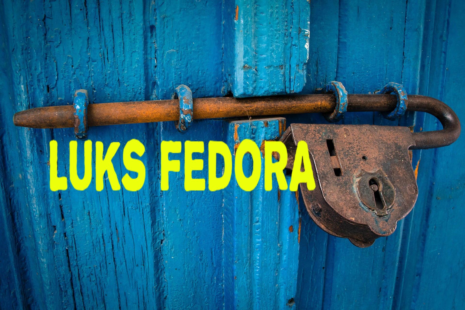 #️⃣ Как зашифровать диски с помощью LUKS в Fedora Linux