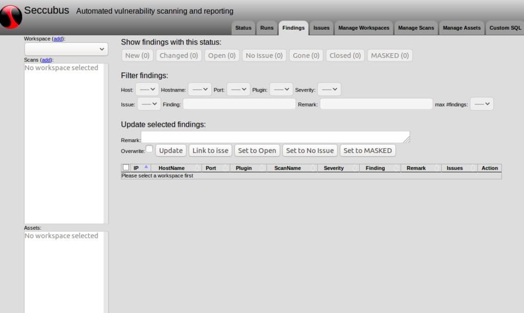 💆♀️  Seccubus — Простое автоматизированное сканирование, отчетность и анализ уязвимостей