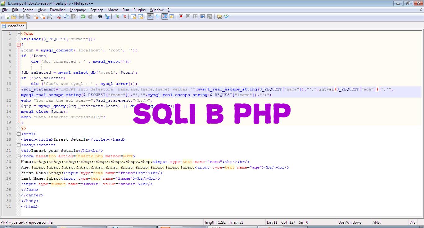 💅 Что такое SQL-инъекция и как ее предотвратить в PHP-приложениях👨⚕️