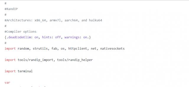 🛐 RandIP — сетевой маппер для поиска серверов