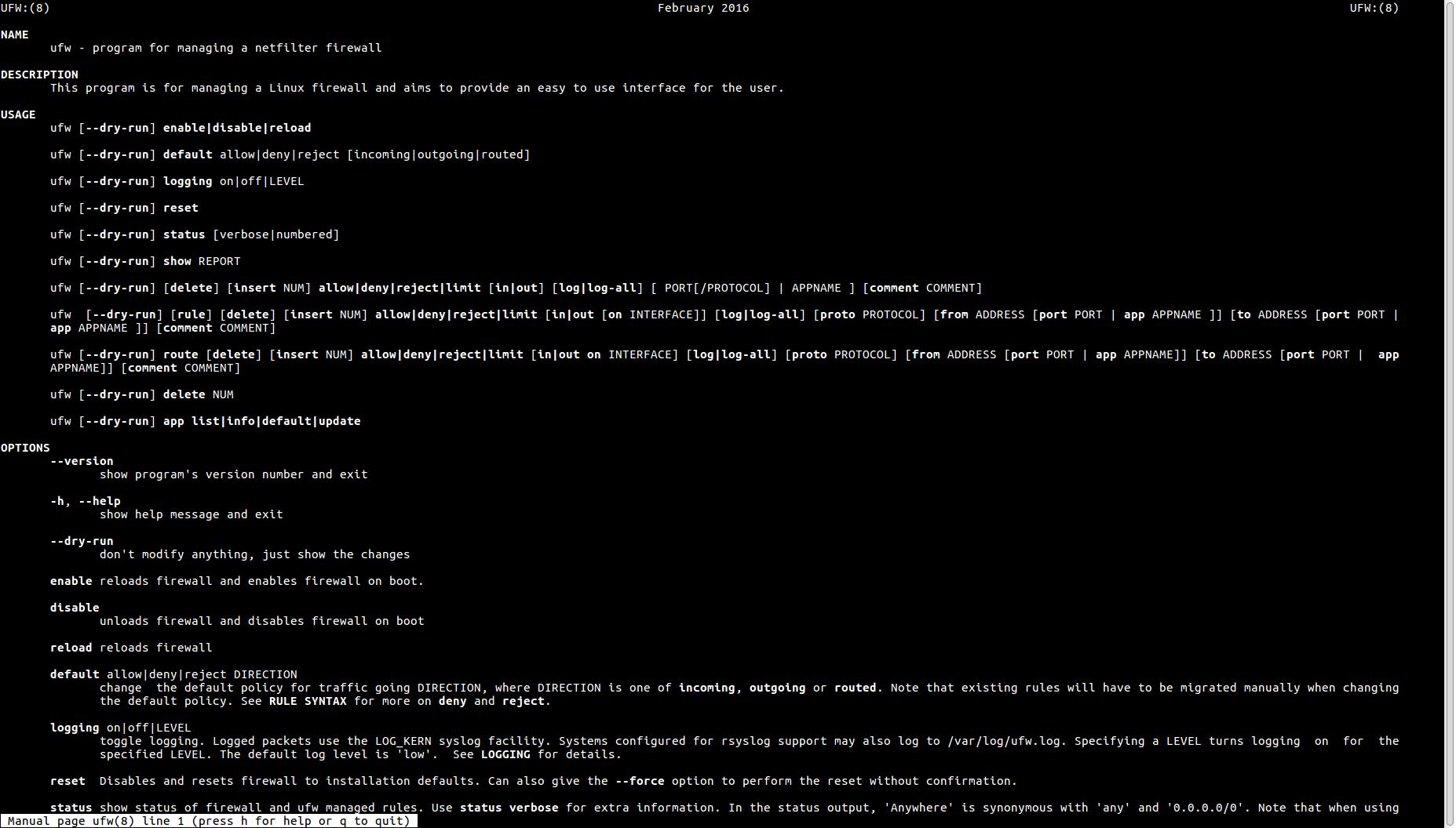 👨⚕️️ Как использовать UFW в Debian 10 Buster Linux