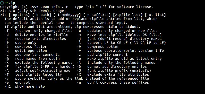 🌫 Как добавить пароль в сжатый файл с помощью ZIP в Linux