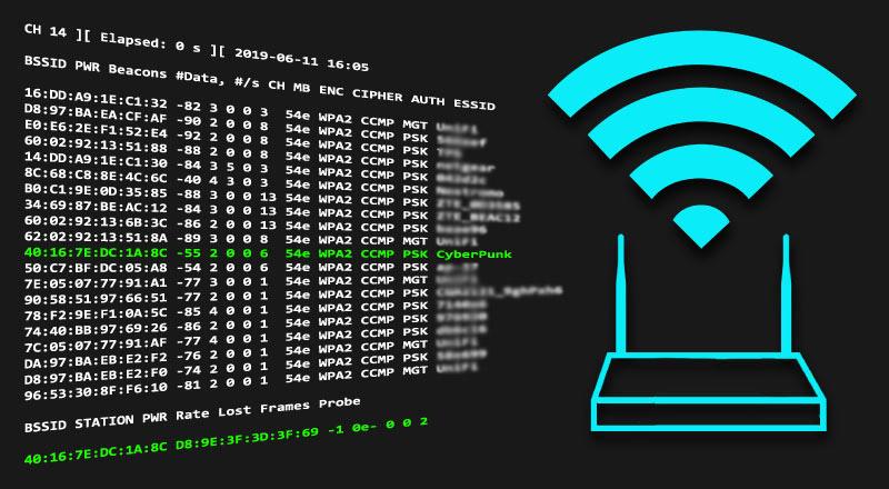 ⚙ WiFiBroot – инструмент для взлома пентеста WiFi для WPA / WPA2 (рукопожатие, PMKID, взлом, EAPOL, деаутентификация)