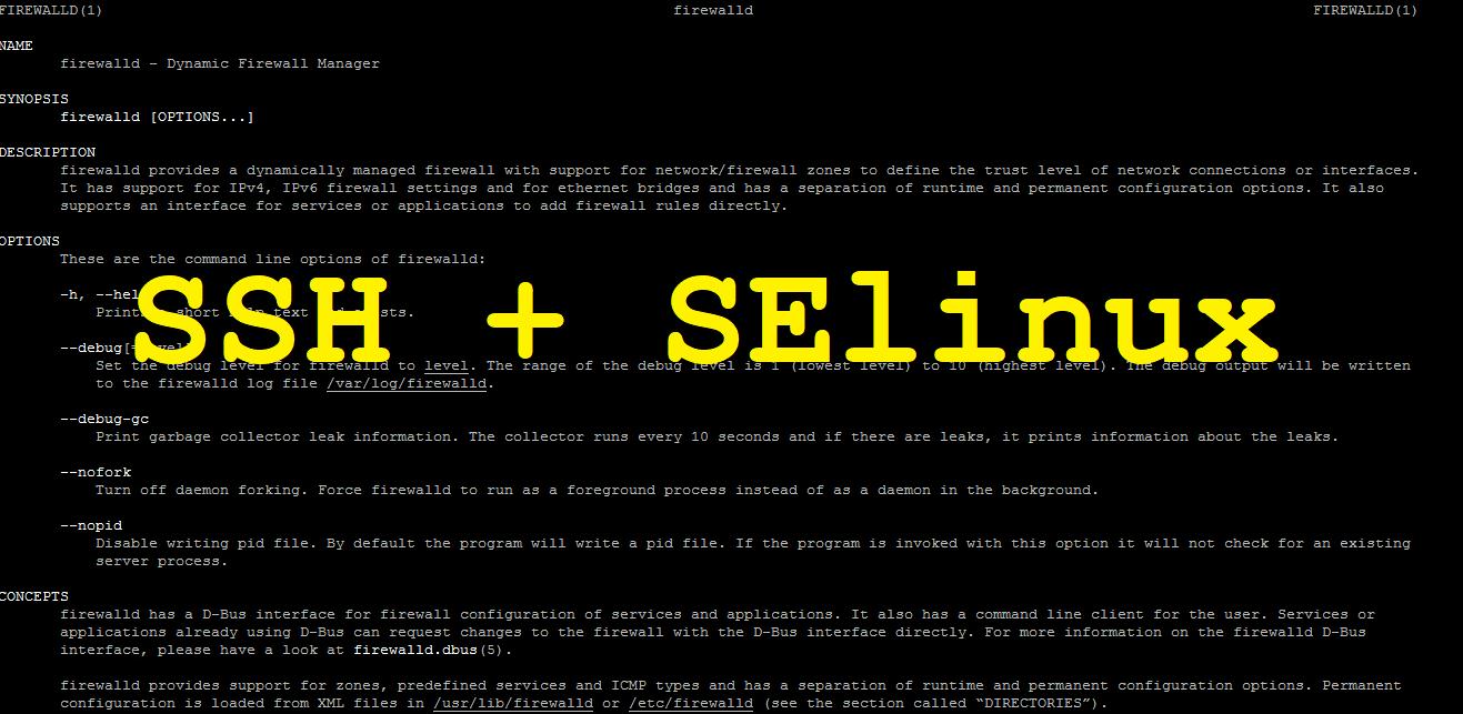 🔥 Как изменить SSH-порт в CentOS / RHEL 7/8 и Fedora с помощью SELinux