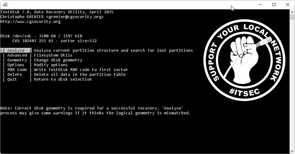🗃️ Как установить и использовать инструмент восстановления данных TestDisk на Linux