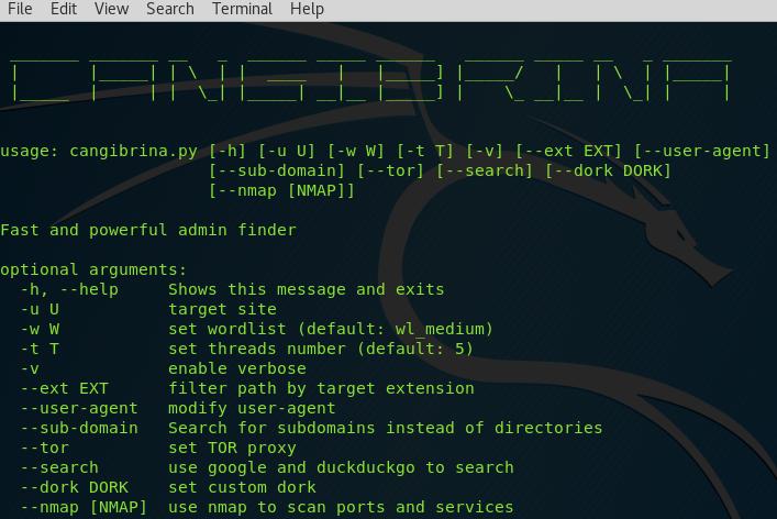 👥 Cangibrina — быстрый и мощный инструмент для поиска панели управления дашборд (admin)