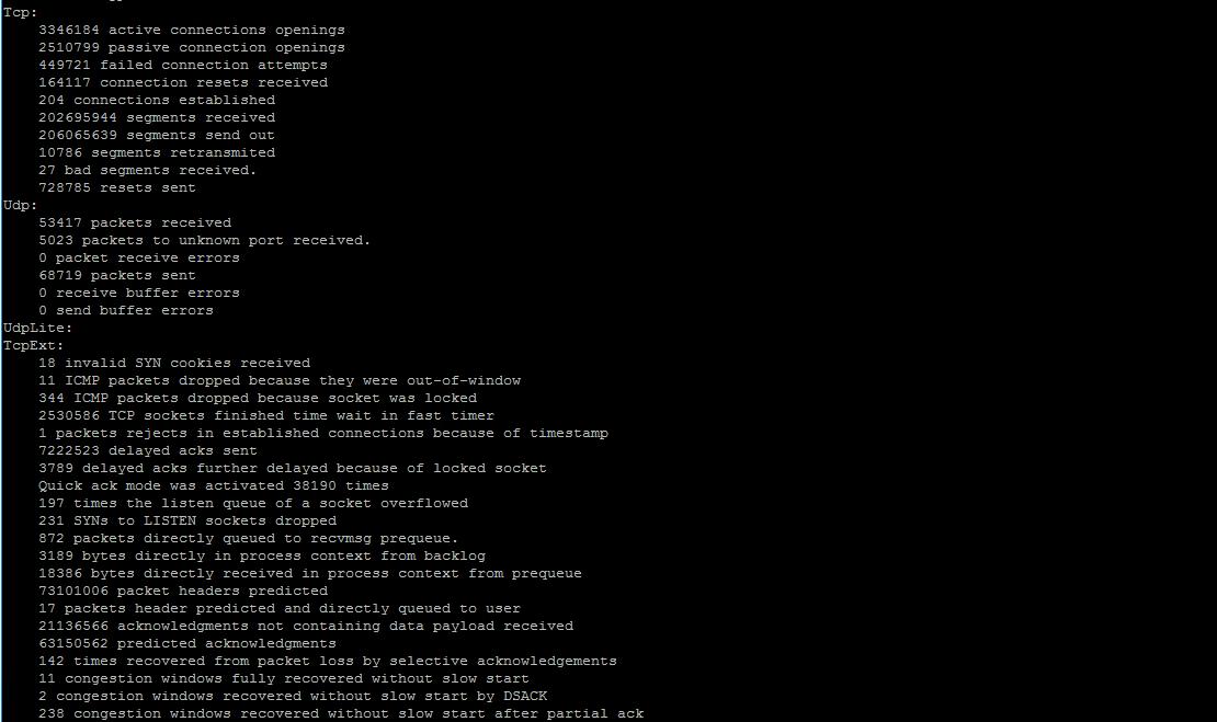 🧰 «netstat -is» показывает большое количество ошибок «packet reassembles failed» в CentOS / RHEL