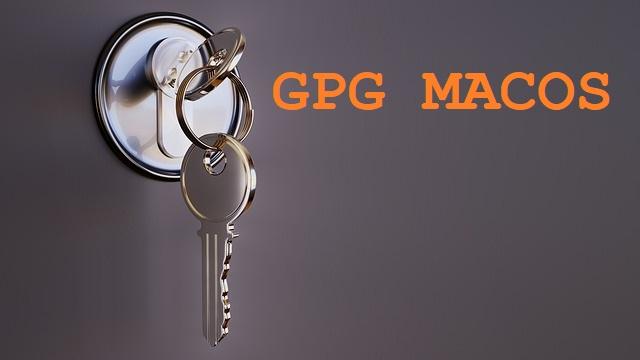 🔐 Как создать и экспортировать пару ключей ( открытый и закрытый) GPG в macOS