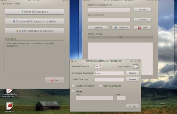 🐧  Как полностью обновить автономные оффлайн системы на основе Debian