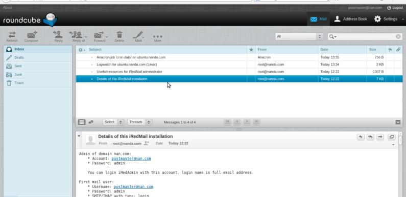 📧 Безопасный сервер iRedMail с SSL-сертификатом Let Encrypt