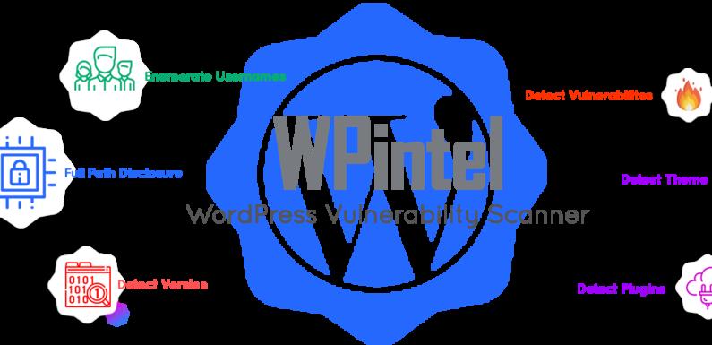 🌐 WPintel: расширение Chrome, разработанное для сканирования уязвимостей WordPress и сбора информации
