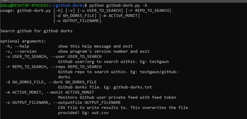 ⚓ Github-Dorks — Коллекция Github дорков и вспомогательного инструмента для автоматизации процесса проверки