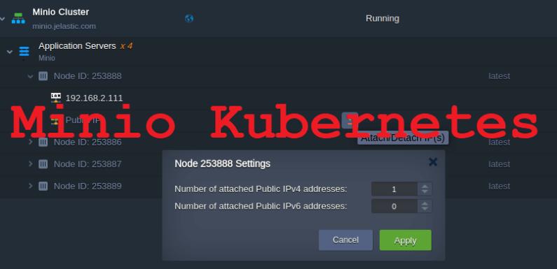 ☸️ Установка Minio на Kubernetes, используя Kubespray и Ansible