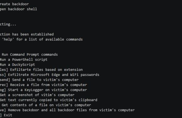 🚪 BetterBackdoor: бэкдор с множеством функций